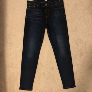 Hudson Nico Mid-Rise Super Skinny Ankle Jeans, 31